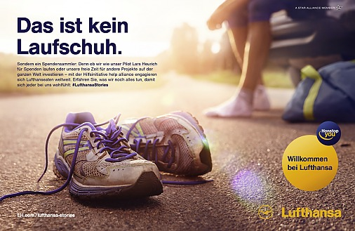 Locationscouting / Lufthansa