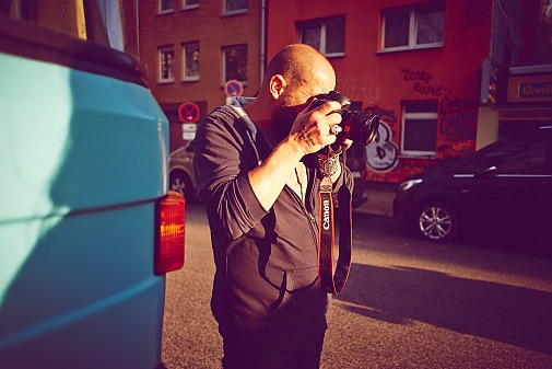 Making of / Shooting mit Wolfgang Zac